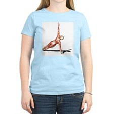 Female muscles, artwork - T-Shirt