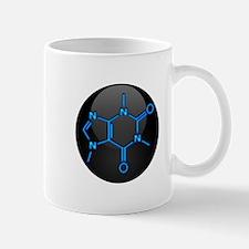 Caffeine Molecule Button Mug