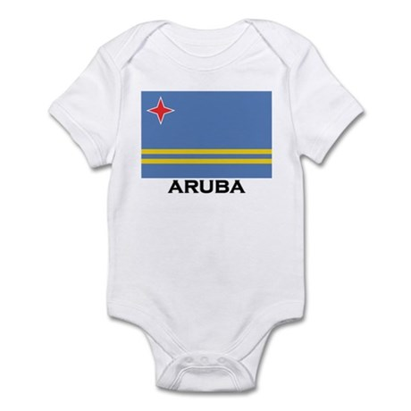 Aruba Flag Merchandise Infant Bodysuit