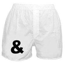 Ampersand Boxer Shorts