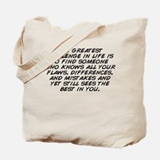 Cool And see someone Tote Bag