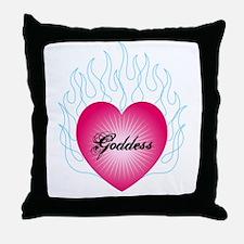 Goddess Heart Throw Pillow