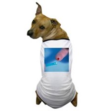 Blood glucose testing - Dog T-Shirt