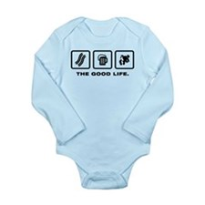 Sumo Wrestling Long Sleeve Infant Bodysuit