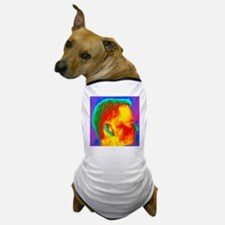 Thermogram of a man's head in profile - Dog T-Shir