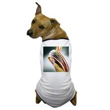 Computer cables - Dog T-Shirt