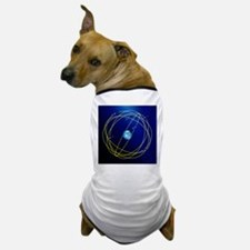 Galileo navigation satellite network - Dog T-Shirt