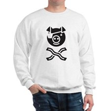 Funny Pirate and Bacon Sweatshirt