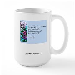 Being Deeply Loved Large Mug