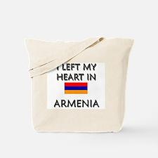 I Left My Heart In Armenia Tote Bag