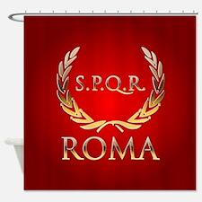 Roman Shower Curtain