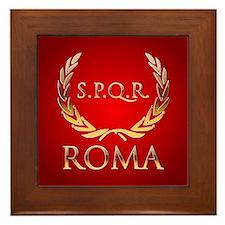Roman Framed Tile