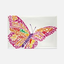 Flying by Grace Rectangle Magnet