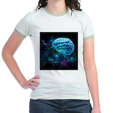 Brain research, conceptual artwork - T