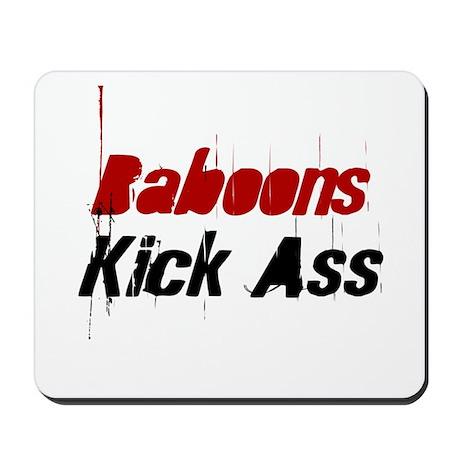 Baboons Kick Ass Mousepad