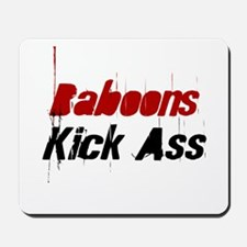 Baboons Kick Ass Mousepad