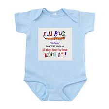 Kill FLU Bugs Infant Bodysuit