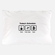 Skiing Pillow Case