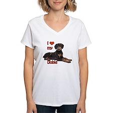 I heart my Doberman Shirt