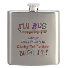 Kill FLU Bugs Flask