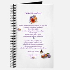 Canyon Sunrise (Dark Purple) Journal 1