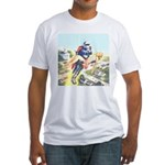 Up, Up and Away... Fitted T-Shirt