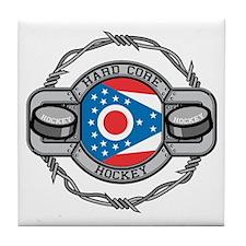 Ohio Hockey Tile Coaster