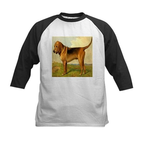 Bloodhound 1880 Digitally Rem Kids Baseball Jersey