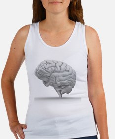 Brain, artwork - Women's Tank Top