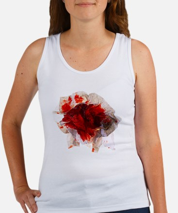 Blood stained tissue - Women's Tank Top