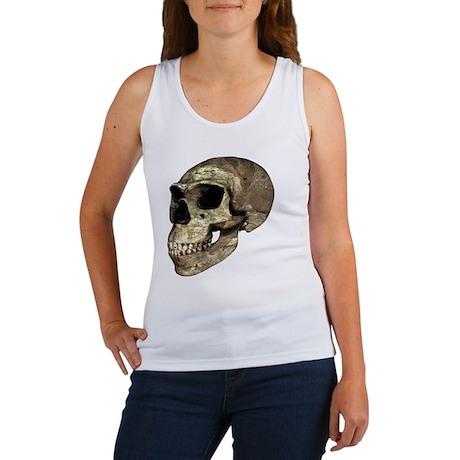Neanderthal skull - Women's Tank Top