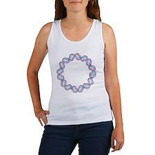 DNA loop, molecular model - Women's Tank Top