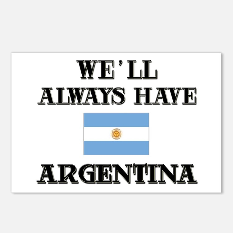 We Will Always Have Argentina Postcards (Package o