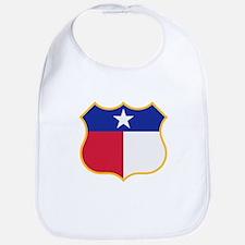 Texas Sign Shield / Tejas Signo Escudo Bib