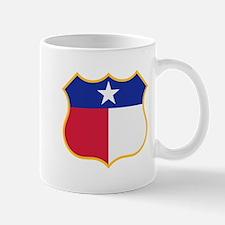 Texas Sign Shield / Tejas Signo Escudo Mug