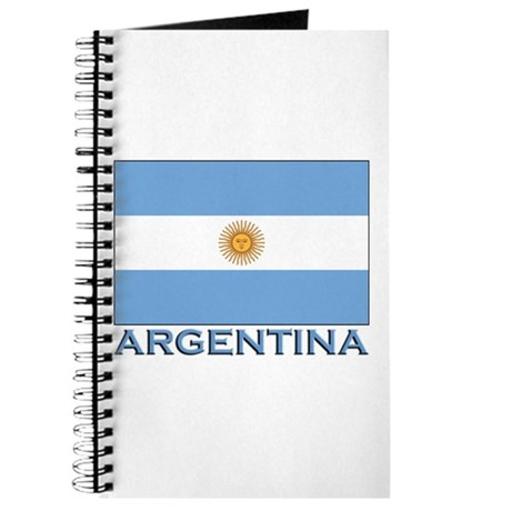 Argentina Flag Gear Journal
