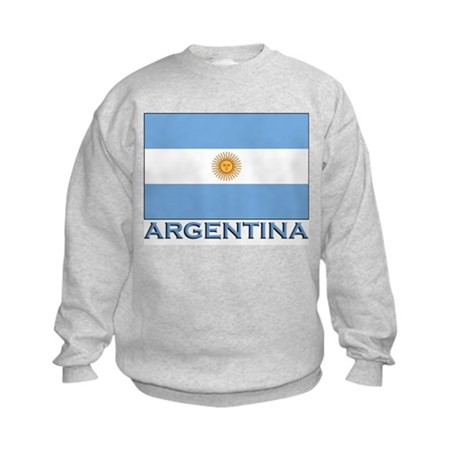 Argentina Flag Gear Kids Sweatshirt