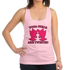 Yoga Girls are Twisted Racerback Tank Top