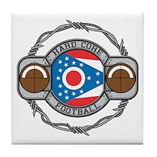 Ohio Football Tile Coaster