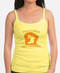 Yoga Girls are Twisted Jr.Spaghetti Strap