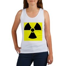 Radiation warning sign - Women's Tank Top