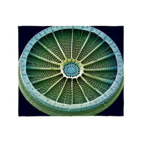 Diatom, SEM - Throw Blanket