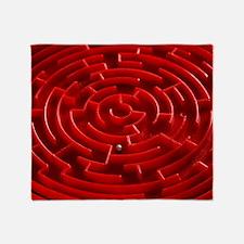 Toy maze - Throw Blanket