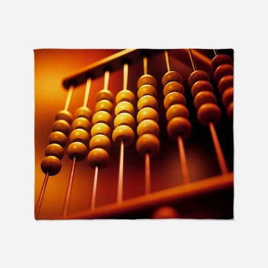 Abacus - Throw Blanket