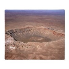 Aerial view of Meteor Crater, Arizona - Stadium B