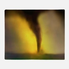 Computer illustration of a tornado - Stadium Blan