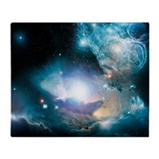 Primordial quasar, artwork - Throw Blanket
