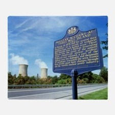 Nuclear power station accident plaque - Stadium B