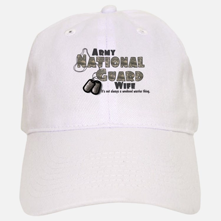 National Guard Wife - Digital Baseball Baseball Cap
