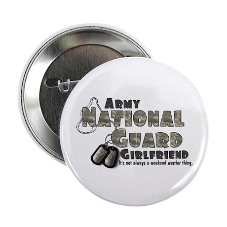 National Guard Girlfriend - Button